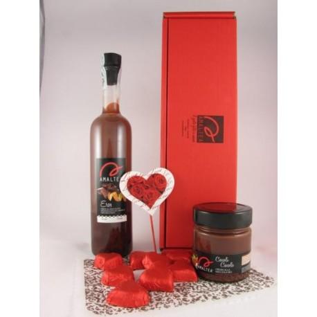 Eros 50cl + Cicolì 240g + 8 cioccolatini fondenti