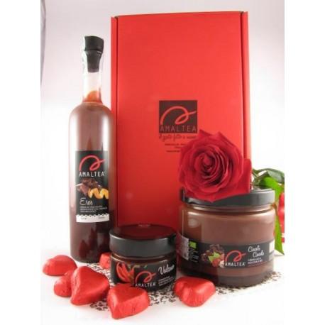 Eros 50cl + Vulcano 120g+ Cioocolì 700g + 6 cioccolatini fondenti