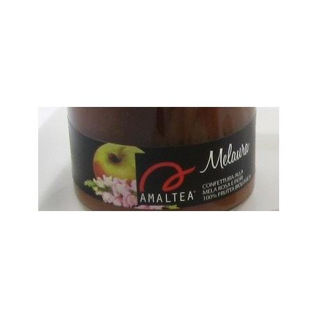 Melaura 120g confettura di mele rosa e fiori bio