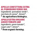 Ingredienti Apollo 700 gr confettura extra bio al pomodoro verde