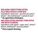 Ingredienti Melaura 120g confettura di mele rosa e fiori bio