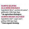 Ingredienti Olimpia 90gr. gelatina biologica alla birra