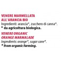 Ingredienti Venere 700g marmellata biologica all'arancia