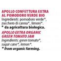 Ingredienti Apollo 120g confettura biologica al pomodoro verde scadenza 09/2019