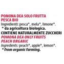 Ingredienti Pomona Dea 240g confettura frutta fresca bio alla pesca