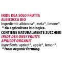 Ingredienti Iride Dea 240g solo albicocche fresche biologiche