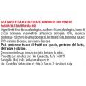 Ingredienti Gea Tavoletta cioccolato fondente e marmellata all'arancia biologica