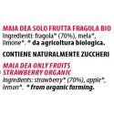 Ingredienti Maia Dea solo fragole fresche senza zucchero