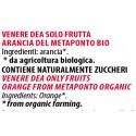 Ingredienti Venere Dea 240g solo arance fresche senza zucchero